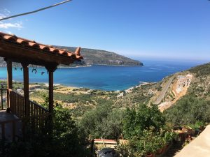 Mani Η θέα από το hotel ΞΕΜΟΝΙ